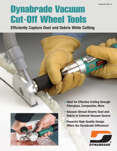 Dynabrade Vacuum cCt-Off Wheel Tools