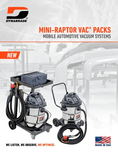 Mini Raptor Vac Packs