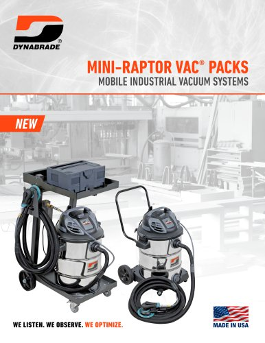 MINI-RAPTOR VAC PACKS