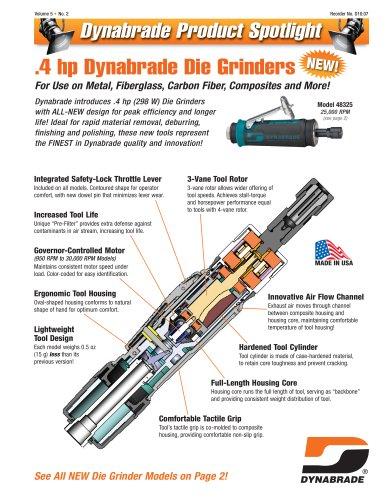 Product Spotlight - 4HP Die Grinder and DynaLocke