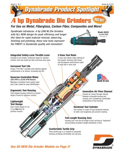 Product Spotlight - 4HP Die Grinder and DynaLocke