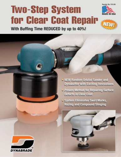 Two-Step System for Clear Coat Repair