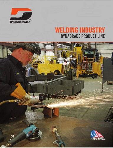 Welding industry Dynabrade product line