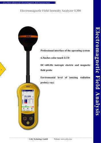 Electromagnetic Field Intensity Analyzer E300