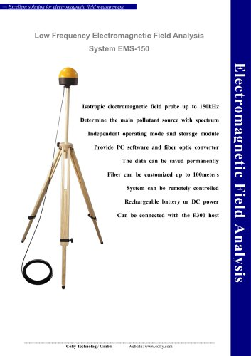 Low Frequency Electromagnetic Field Analysis System EMS-150