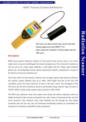R60N Neutron Gamma Radiometer