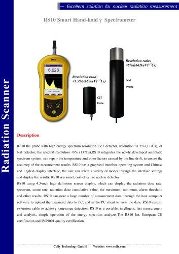 RS10 Smart Handhold gamma Spectrometer