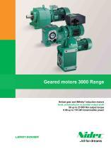 Geared motors 3000 Range