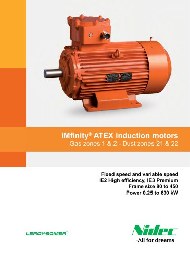 IMfinity® ATEX induction motors