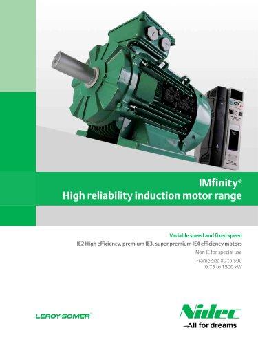 IMfinity® induction motor range