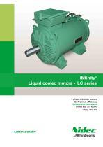 LC liquid cooled motors