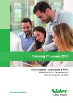 Training Courses 2018