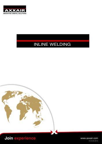 E-catalog orbital On-line welding Axxair