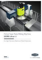 GEORG ultramill for aluminium plates