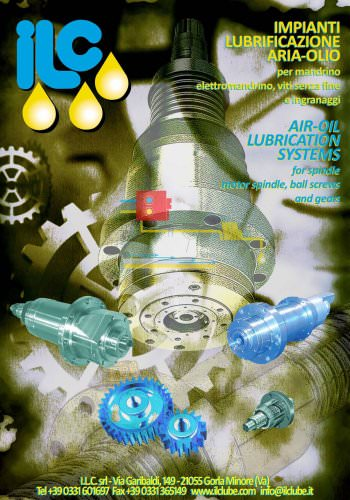 AIR/OIL LUBRICATION