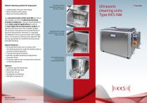 KKS Ultrasonic cleaning units Type KKS-NW