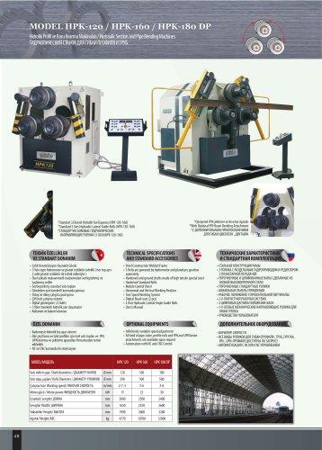 HPK-120 -160-180 DP
