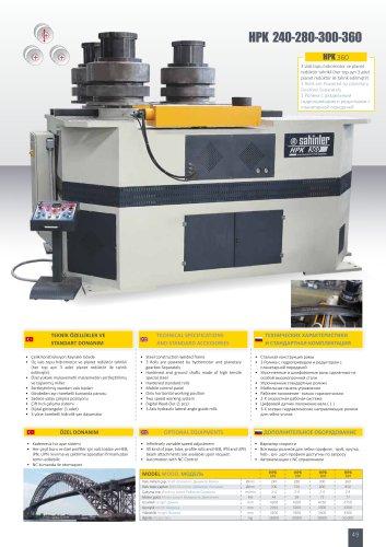 HPK 240-280-300-360