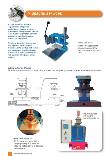 Special presses