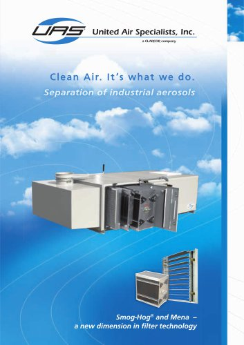 SmogHog and Mena Separation of industrial aerosols