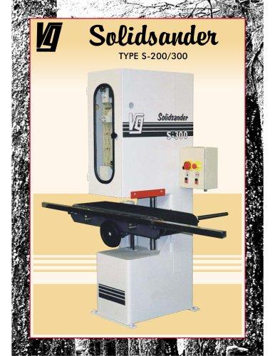 Solidsander TYPE S-200/300