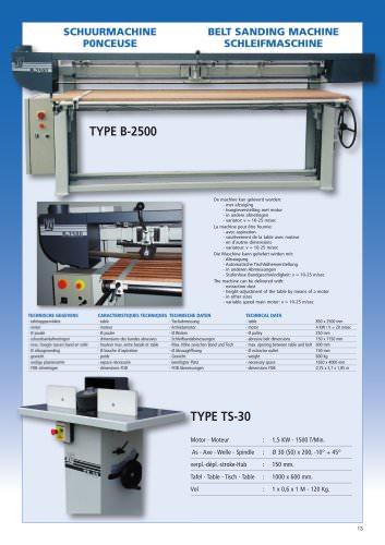 TYPE B-2500