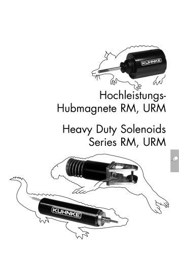 Kuhnke High Performance Linear Solenoids RM