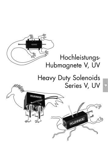 Kuhnke High Performance Linear Solenoids V