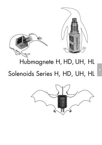 Kuhnke Linear Solenoids H-HD