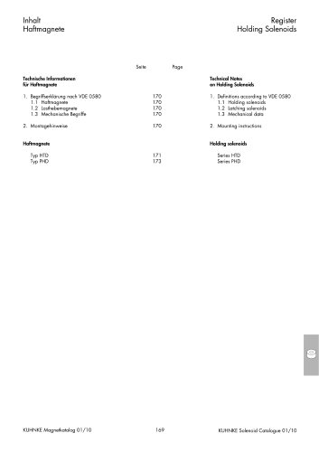 Technical Information Kuhnke Holding Solenoids