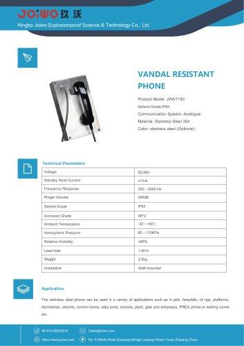 Jail Rugged Vandal Resistant Telephone-JWAT150