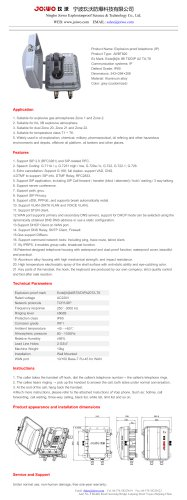 Joiwo Explosion proof VOIP telephone JWBT820