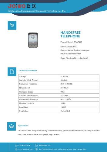 Joiwo Handsfree Telephone JWAT412