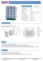 Joiwo Industrial metal keypad for outdoor B518
