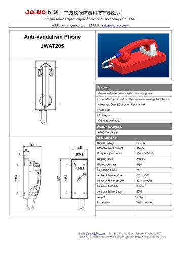 Joiwo Public Phone Red Mini Telephone JWAT205