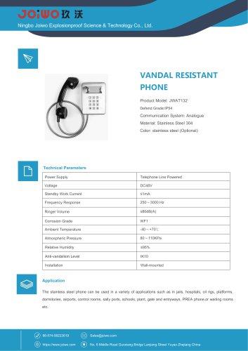 Joiwo Stainless Steel Jail Phone JWAT132