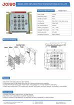 Joiwo Vandal proof payphone keypad B517