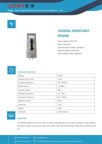 Joiwo Vandal Resistant Telephone JWAT147