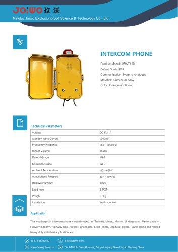 Joiwo Waterproof Handsfree Telephone JWAT410