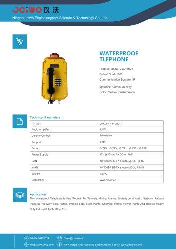 Joiwo Waterproof IP Telephone JWAT921