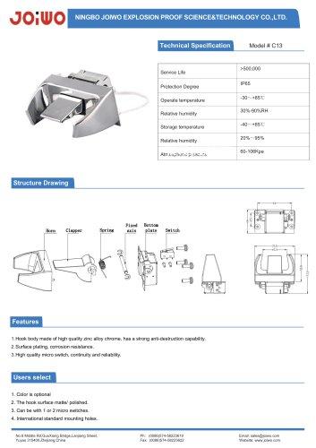 Joiwo Zinc Alloy Mechanical Switch Cradle C13