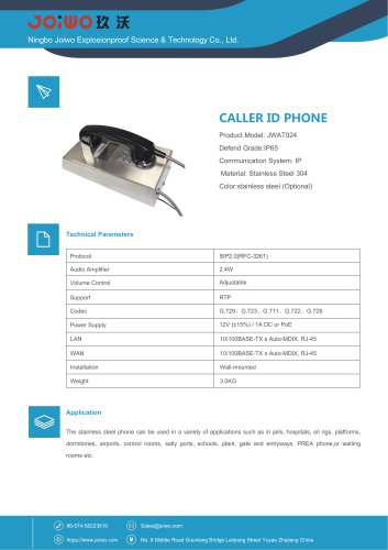 LAN Telephone JWAT924