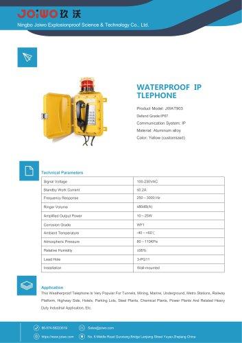 WATERPROOF IP TLEPHONE JWAT903