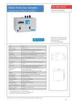 SH-2002-WAD - suction type gas detector