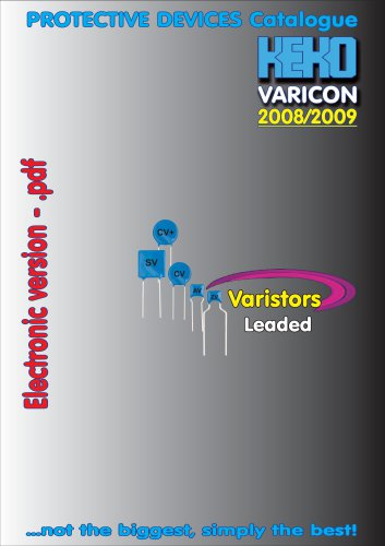 varistors - 2008/2009