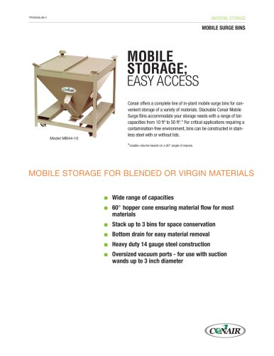 Mobile Surge Bins