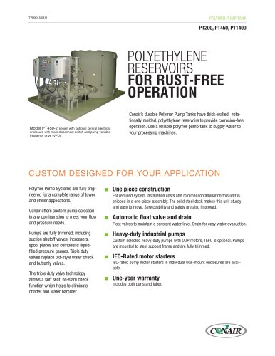 Pump Tank, Polymer