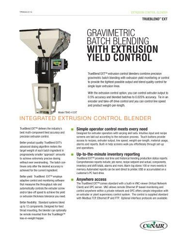 TrueBlend Extrusion Control Blender