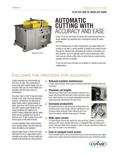 TS Up-Cut and TS Cross-Cut Saws
