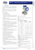 FKC - Differential pressure (flow) transmitter